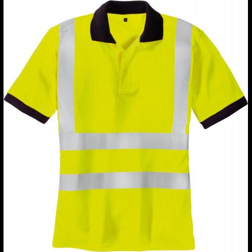 Bekleidung & Schutzausrüstung Warnschutz-T-Shirt leuchtgelb Gr Funsport L